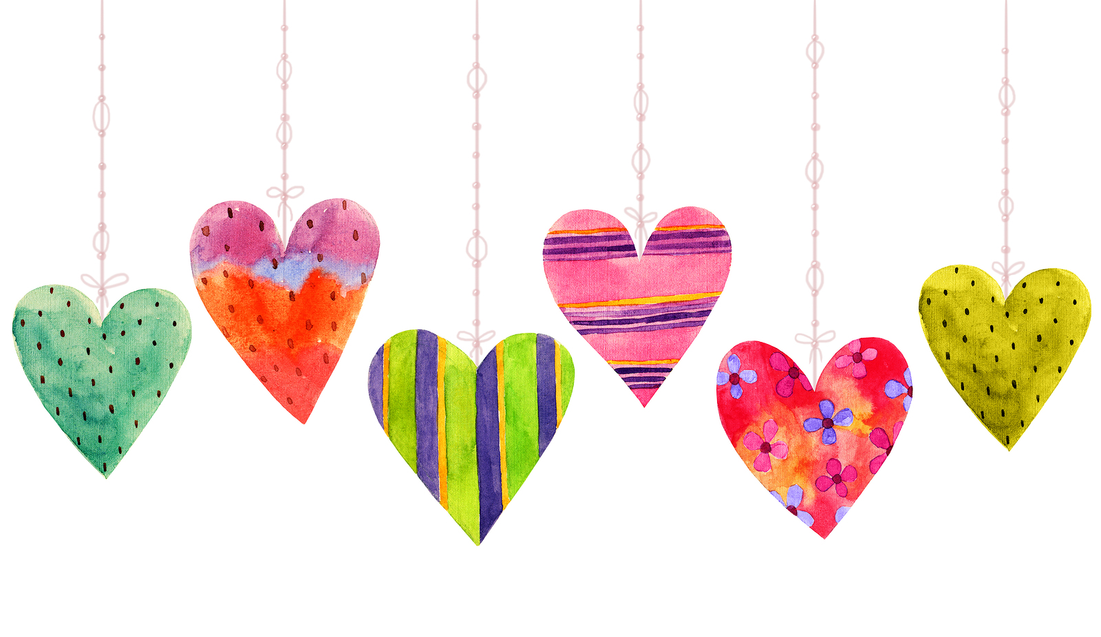 The heart symbol is powerful and healing for our energetic body