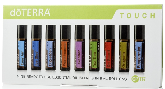 I love the doTERRA Touch essential oil range
